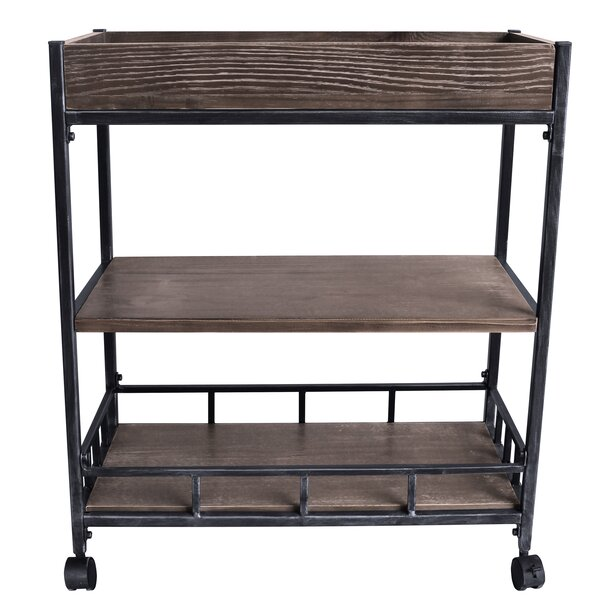 Serenity Bar Cart by 17 Stories