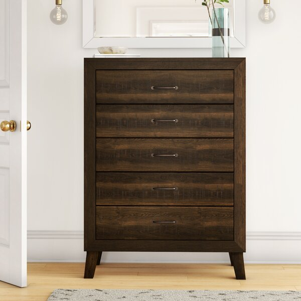 Dory 5 Drawer Chest by Foundstone