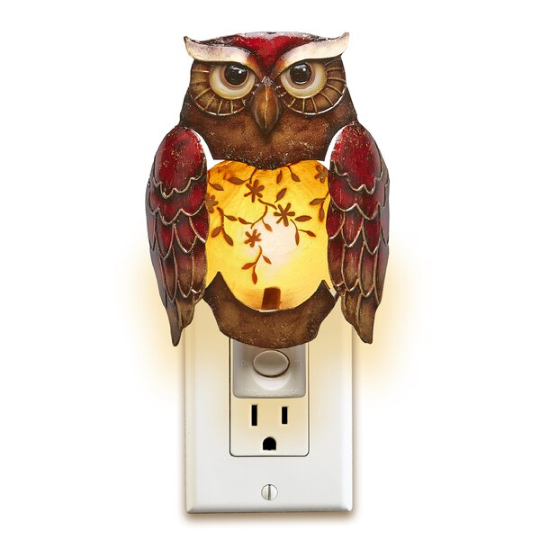 Eshelman Decor Owl Night Light by August Grove