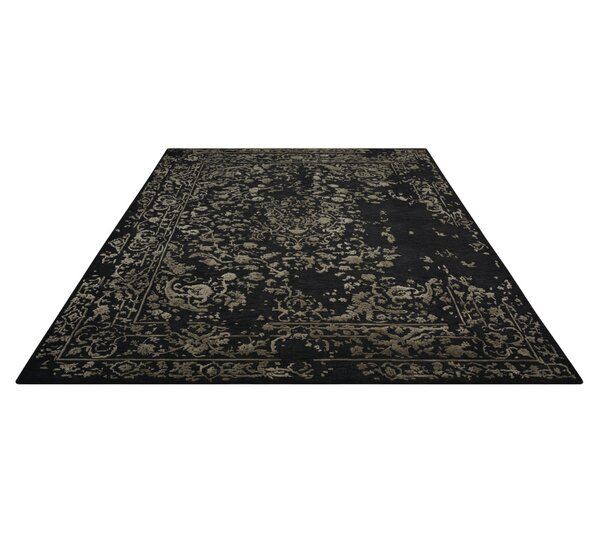 Buecker Hand-Tufted Black Area Rug by Bloomsbury Market