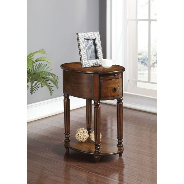 Review Aisha End Table With Storage