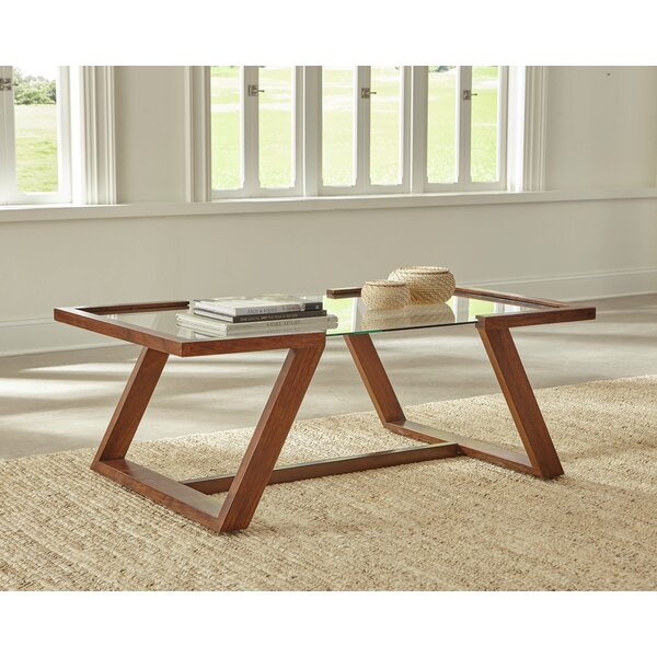 George Oliver Glass Top Coffee Tables