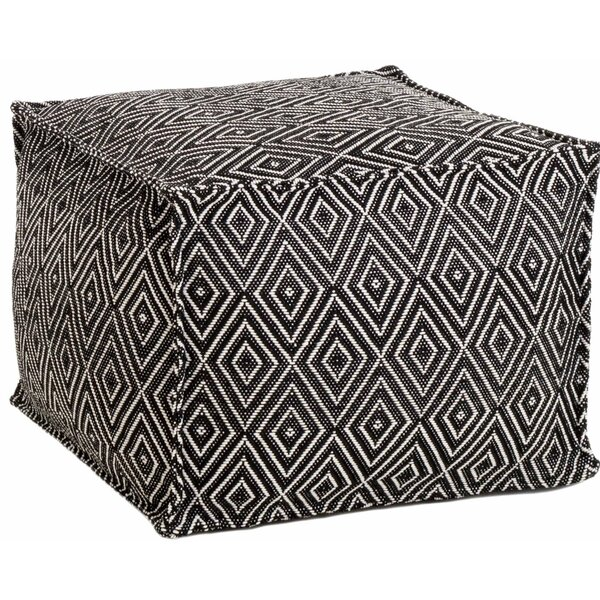 Sloane Diamond Outdoor Ottoman by Fresh American