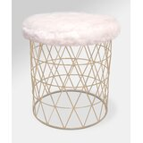 Pleasing Modern Contemporary Small Round Upholstered Stool Allmodern Gmtry Best Dining Table And Chair Ideas Images Gmtryco