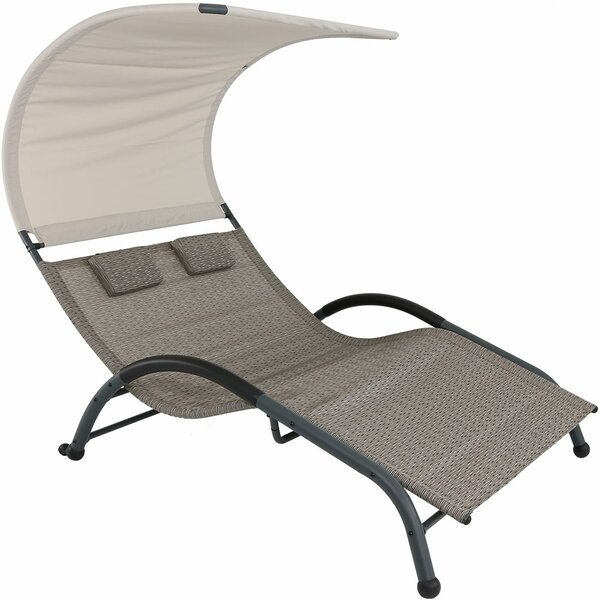 Brenna Double Chaise Lounge by Freeport Park