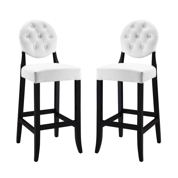 Courtnay 29 Bar Stool (Set of 2) by Willa Arlo Interiors