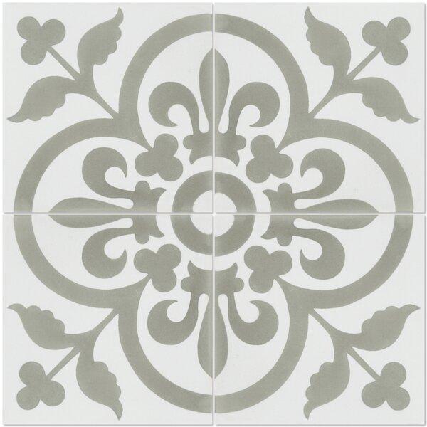 Raylen 8 x 8 Cement Field Tile
