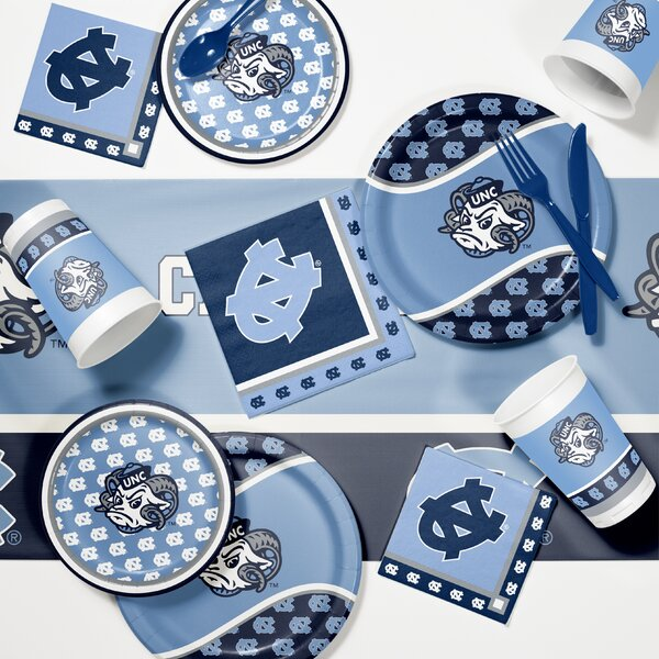 Game Day Party 89 Piece Plate Set by Creative Conv