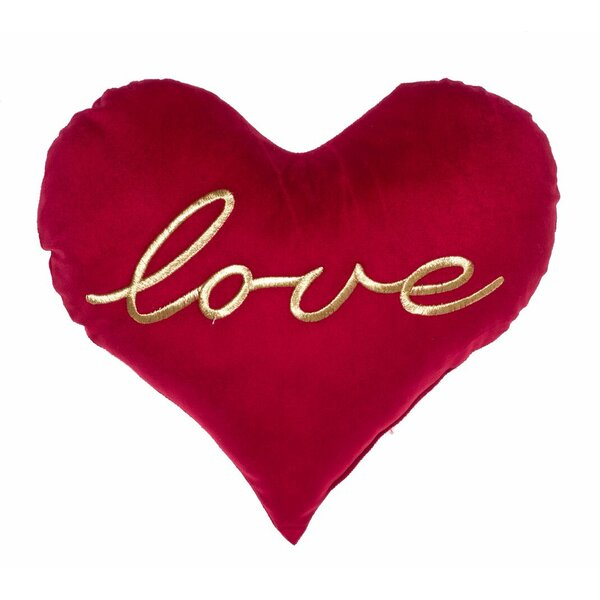 All You Need Is Love Heart Throw Pillow by 14 Karat Home Inc.
