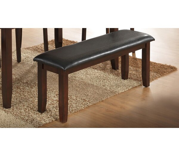 Thorson Faux Leather Bench by Red Barrel Studio