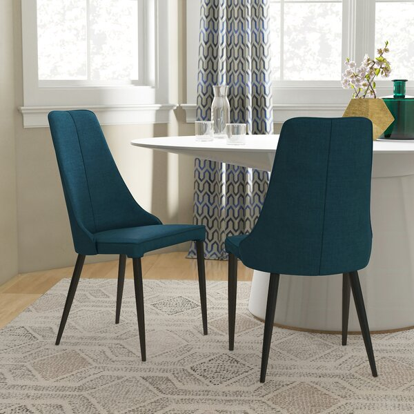 Eichelberger Urban Upholstered Dining Chair (Set of 2) by Wrought Studio