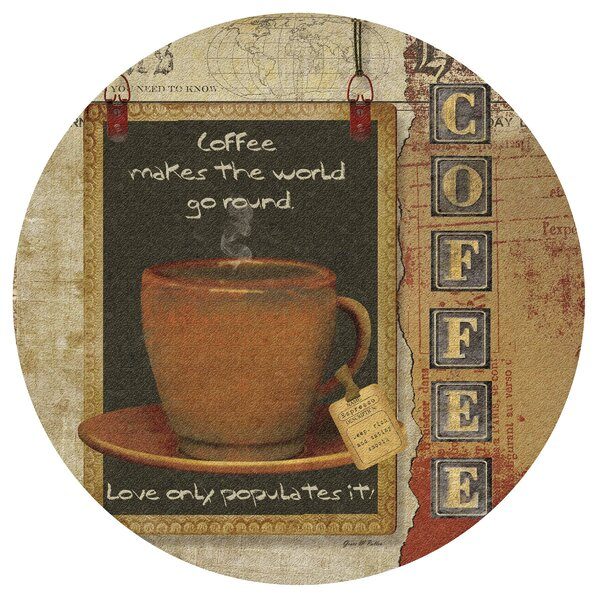 Coffee Love Cork Trivet by Thirstystone