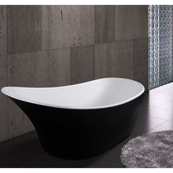 63 x 26 Freestanding  Soaking Bathtub by AKDY