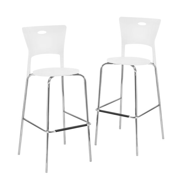 Streicher 31.5 Bar Stool (Set of 2) by Latitude Run
