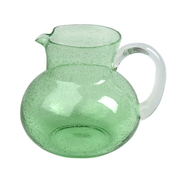 Candis Glass Pitcher by Beachcrest Home