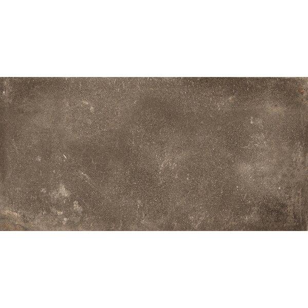 Basole 12 x 24 Ceramic Field Tile in Bruno by Interceramic