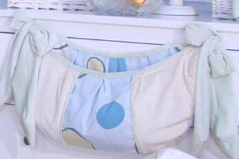 Minky Bubbles Toy Bag by Brandee Danielle