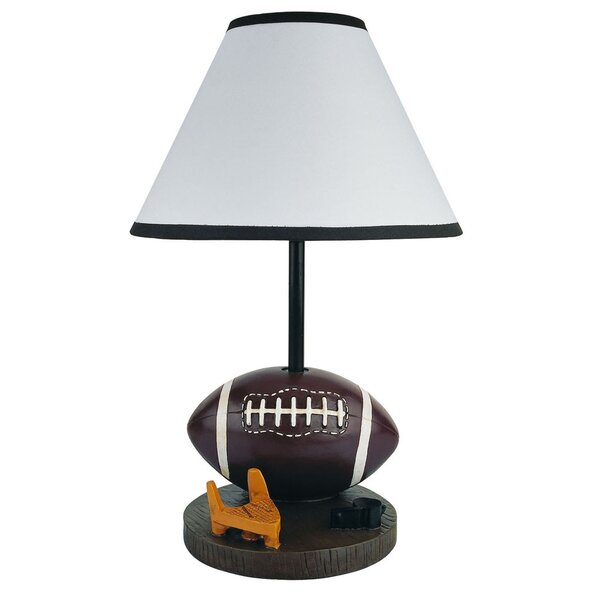 Giblin Polyresin Football 15.5 Table Lamp by Zoomie Kids