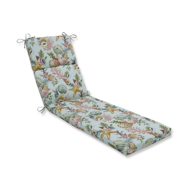 Seamist Indoor/Outdoor Chaise Lounge Cushion