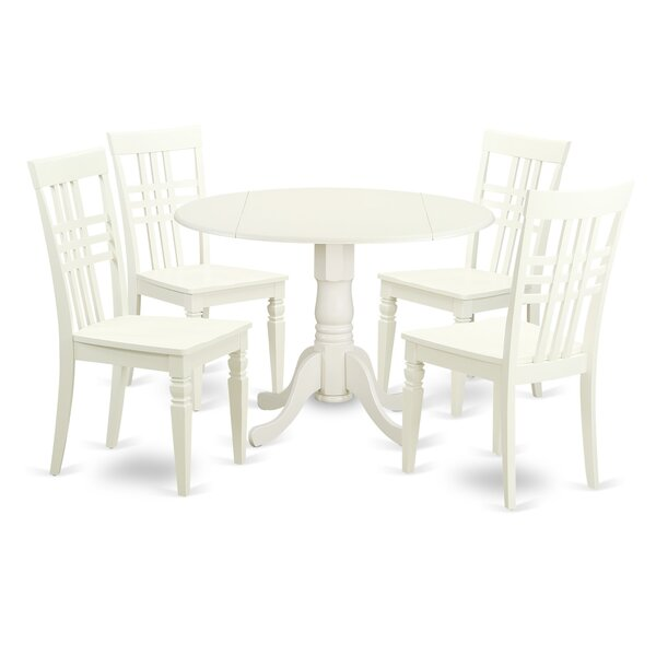 Find 5 Piece Dining Set By East West Furniture Best