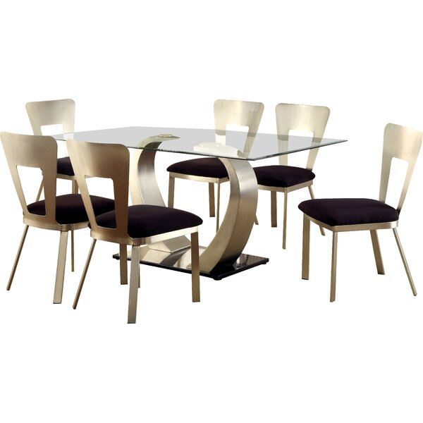Briles 7 Piece Dining Set by Hokku Designs
