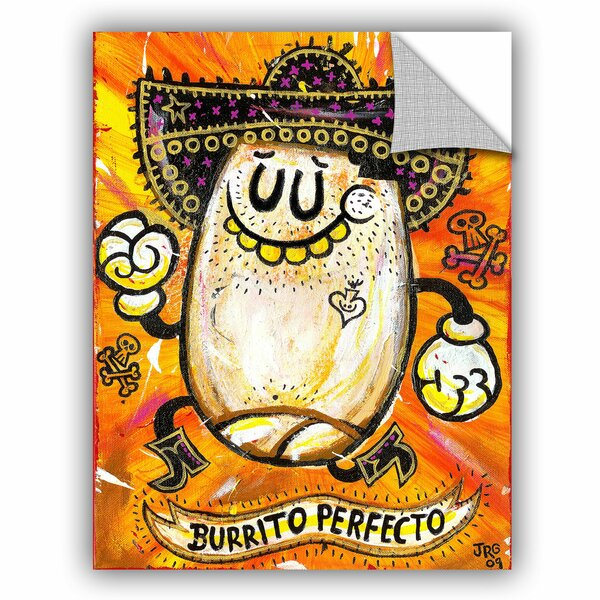 Jorge Gutierrez Burrito Perfeco Wall Decal by ArtWall