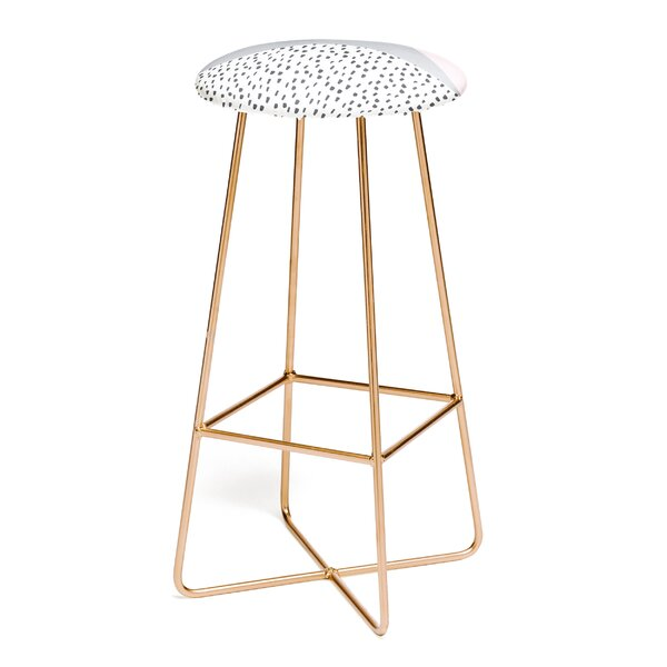 Viviana Gonzalez Scandinavian Style Collection 30 Bar Stool by East Urban Home