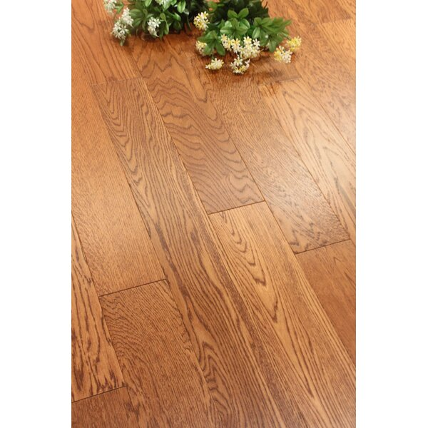 Chicago 5 Engineered Oak Hardwood Flooring in Brown by Albero Valley