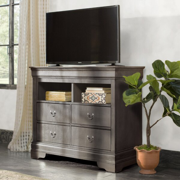 Lisle 4 Drawer Media Chest by Lark Manor