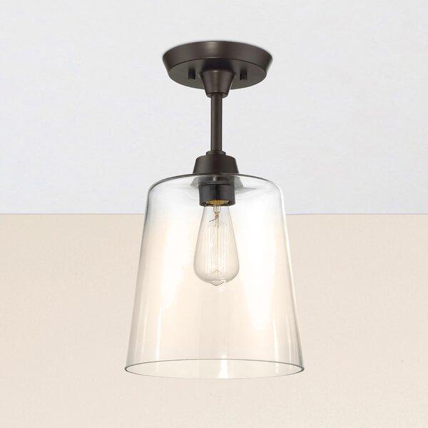 Claybourne 1-Light Flush Mount by Birch Lane™