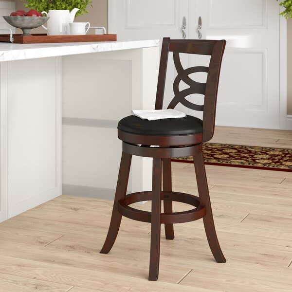 LaGrange 24 Swivel Bar Stool by Red Barrel Studio