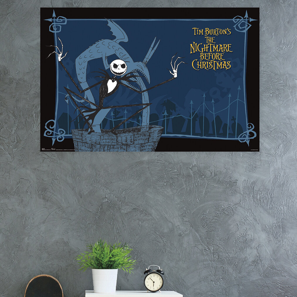 Trends International The Nightmare Before Christmas Well Paper