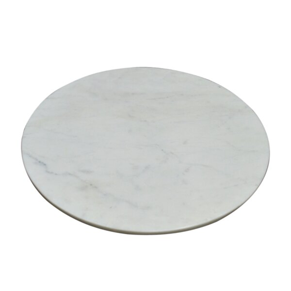 Booze Marble Lazy Susan by Wrought Studio