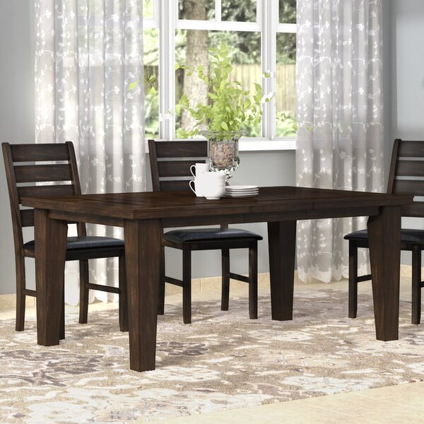Stanley Extendable Dining Table by Alcott Hill Alcott Hill