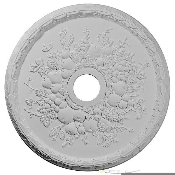Grape 22 5/8H x 22 5/8W x 5/8D Ceiling Medallion by Ekena Millwork