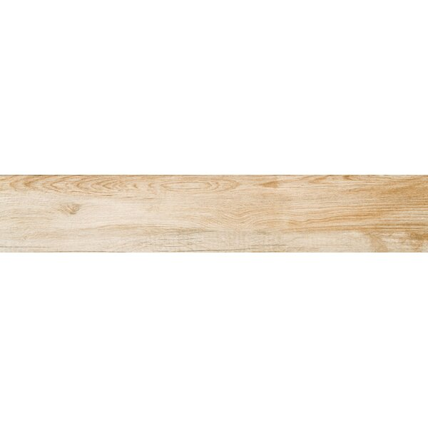 Pocono 6 x 24 Porcelain Wood Look/Field Tile in Oak by Emser Tile