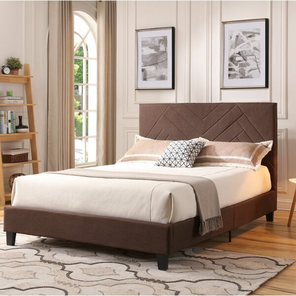 Gipson Upholstered Platform Bed by Williston Forge