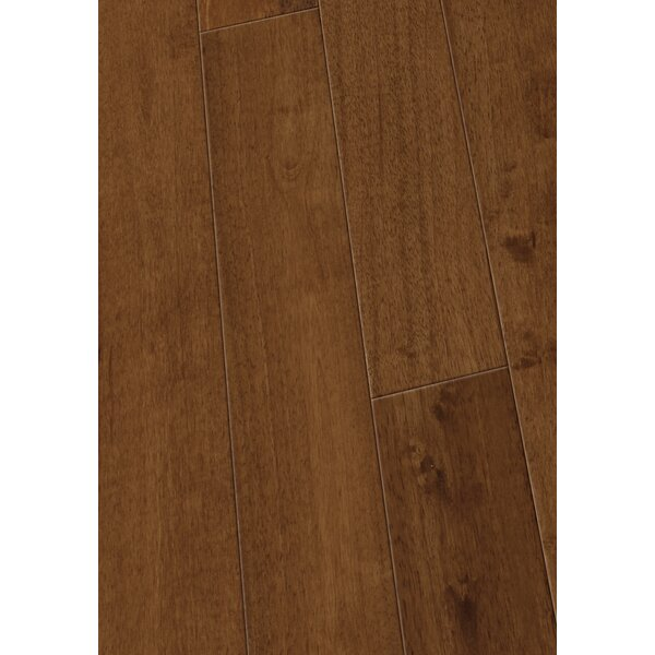 4.5 Solid Hevea Hardwood Flooring in Smooth Ginger by Maritime Hardwood Floors