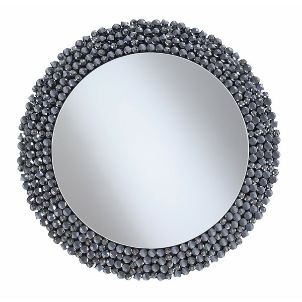 Amalda Beautifully Designed Round Wall Accent Mirror by House of Hampton