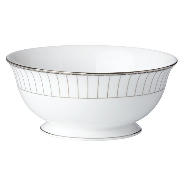 Platinum Onyx Serving Bowl by Lenox