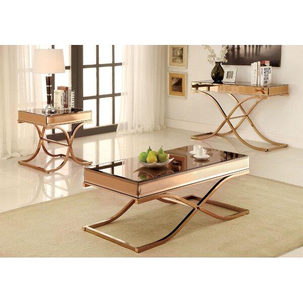 Edwige 3 Piece Coffee Table Set by Willa Arlo Interiors Willa Arlo Interiors