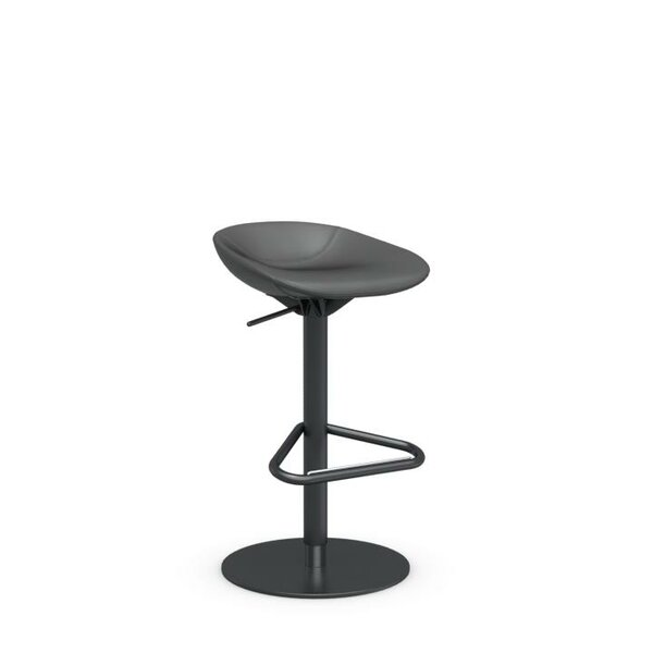 Palm Adjustable Height Swivel Bar Stool by Calligaris