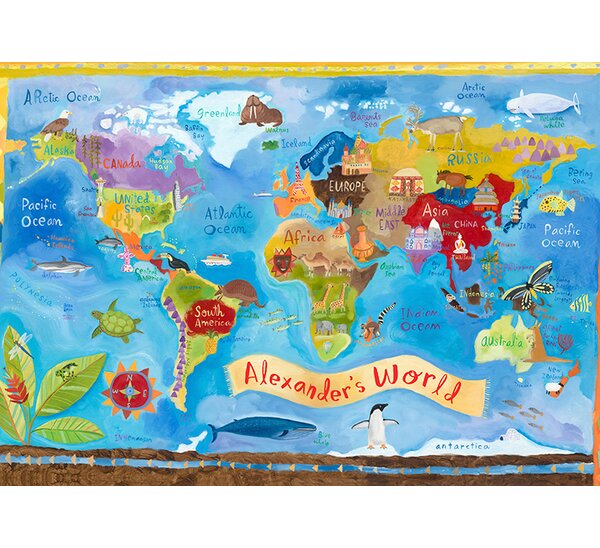 Our World Placemat by Oopsy Daisy
