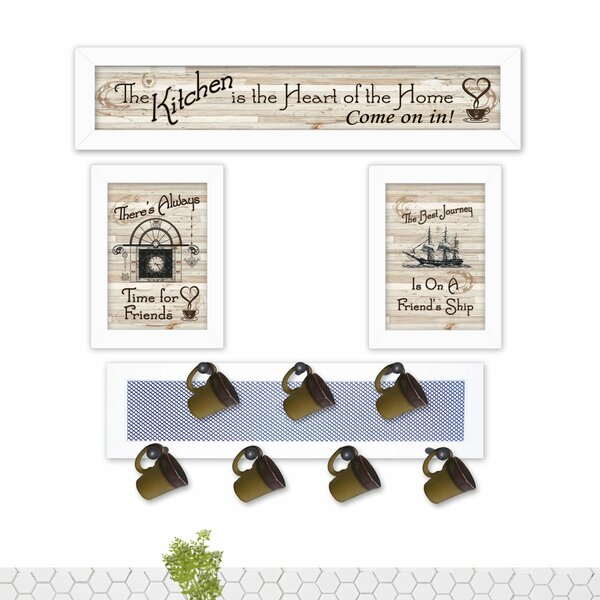 4 Piece Kitchen Wall Décor Set by August Grove