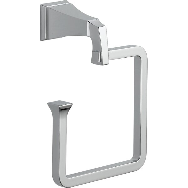Dryden Wall Mounted Towel Ring by Delta