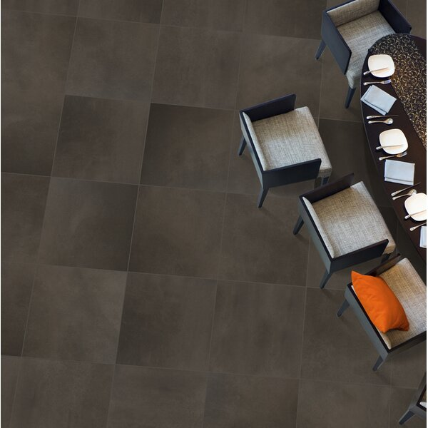 Cosmopolitan 6 x 1 Porcelain Corner Piece Tile Trim in Earth by Emser Tile