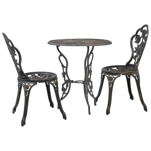 Koval 3 Piece Bistro Set by Alcott Hill