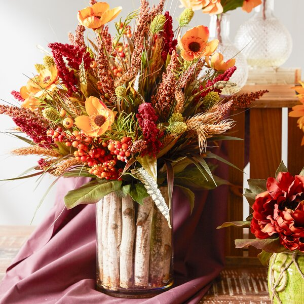 Mixed Centerpiece in Decorative Vase by Creative Displays, Inc.