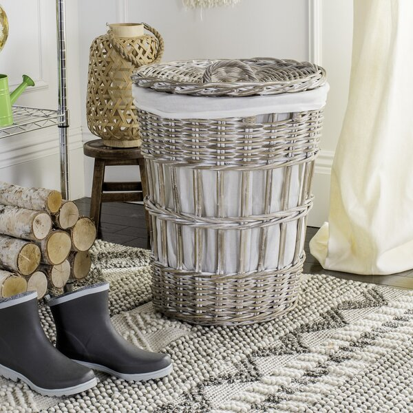 Laundary Hamper with Liner by Ophelia & Co.
