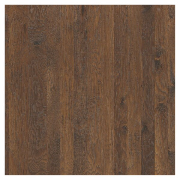 Greensboro Random Width Engineered Hickory Hardwood Flooring in Silverado by Shaw Floors
